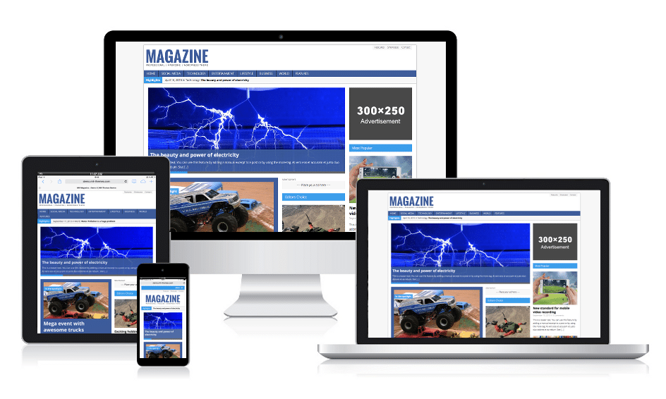MH Magazine Responsive WordPress Theme