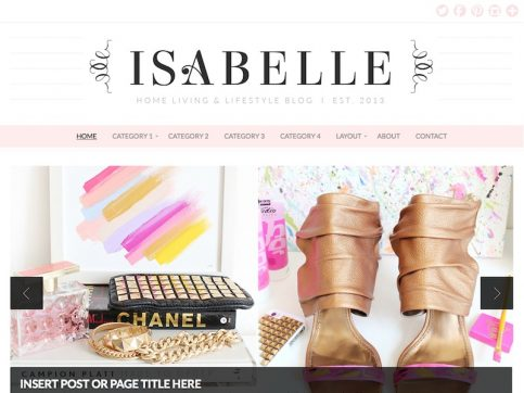 Isabelle Magazine WordPress Theme