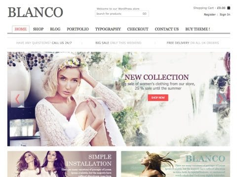 Blanco WooCommerce Theme