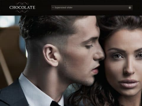 Chocolate WordPress Theme