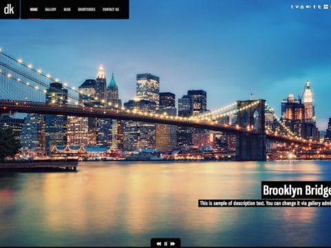 DK Photography WP Theme
