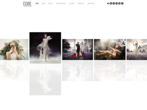 Core Photography WordPress Theme