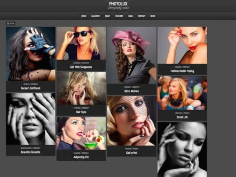 Photolux WP Theme