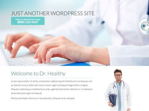 Dr. Healthy WP Theme