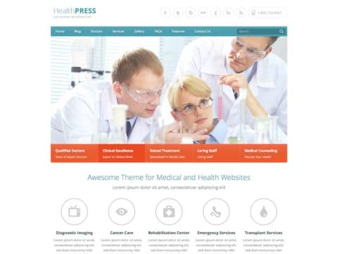 HealthPress Theme