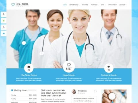 Healther WordPress Theme