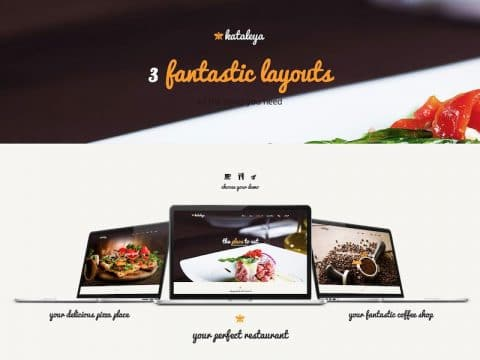 Kataleya Restaurant WP Theme