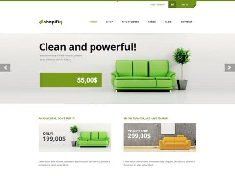 Shopifiq WooCommerce WP Theme