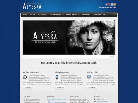 Alyeska WP Theme