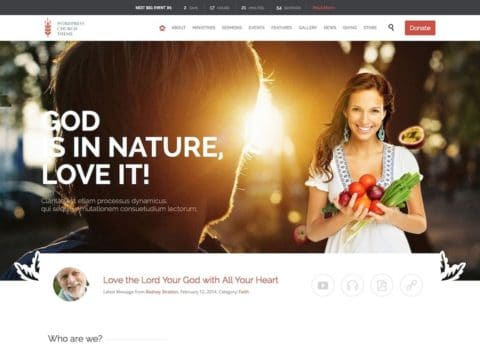 Church and Event WP Theme