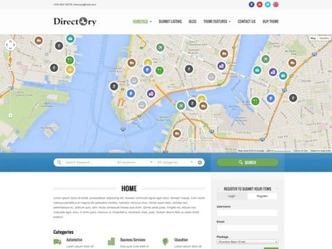 Directory WP Theme
