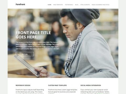 Forefront Real Estate WordPress Theme