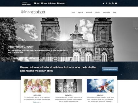 Incarnation Church WP Theme