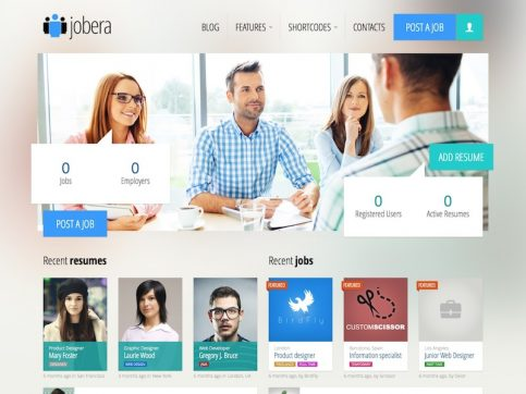 Jobera Job Board WordPress Theme