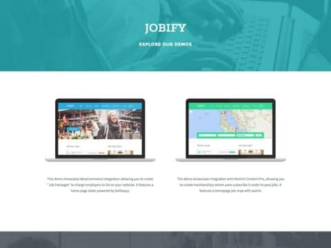 Jobify WP Theme