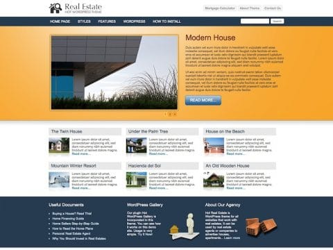 Hot Real Estate WP Theme