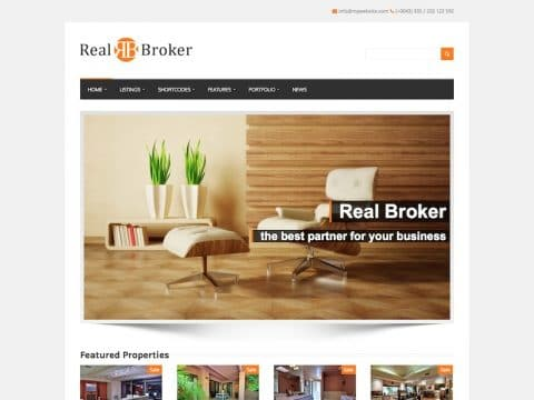 Realbroker WP Theme