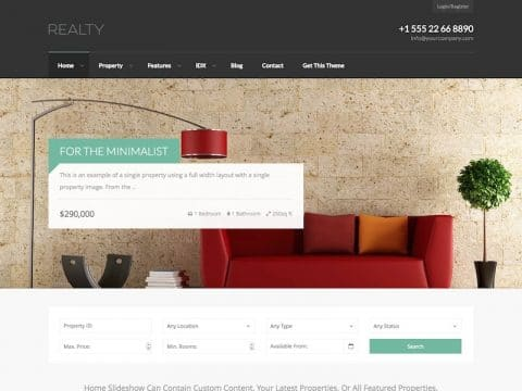 Realty WP Theme
