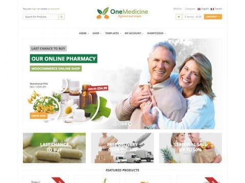 123Medicine Medical WP Theme