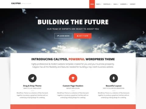 Calypso WordPress Theme