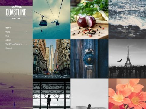 Coastline Blog WordPress Theme