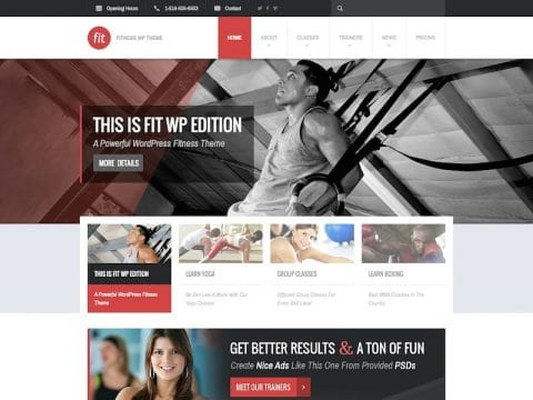 FIT WordPress Theme