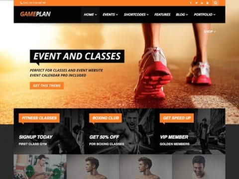 Gameplan WordPress Theme