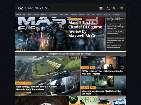 GamingZone WordPress Theme
