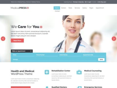 MedicalPress Medical WP Theme
