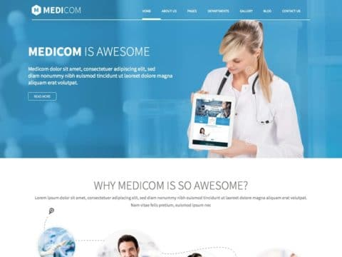 Medicom Medical WP Theme