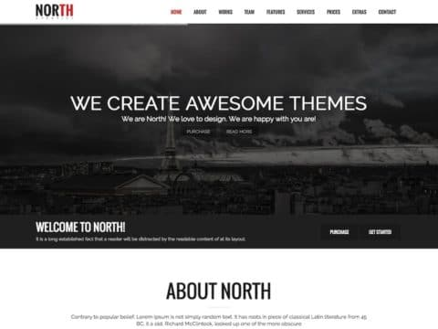 North WordPress Theme