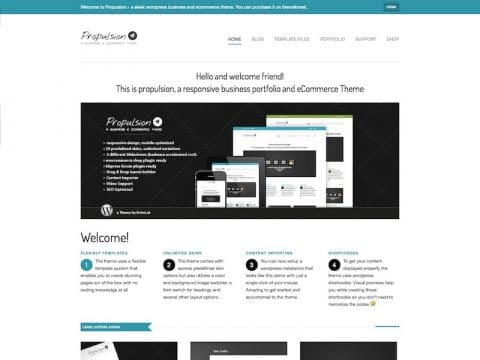 Propulsion WP Theme