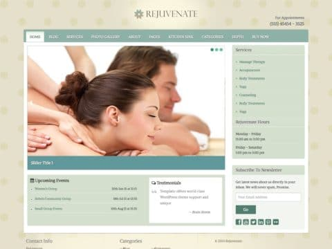 Rejuvenate WP Theme