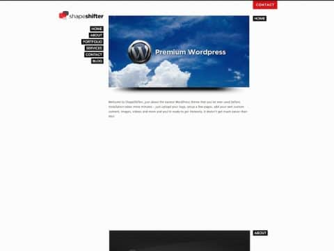 ShapeShifter WordPress Theme