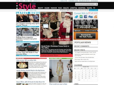 StyleLife Magazine WordPress Theme