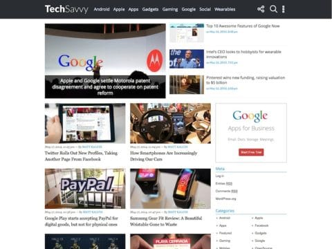 TechSavvy WP Theme