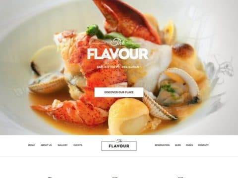 The Flavour WP Theme
