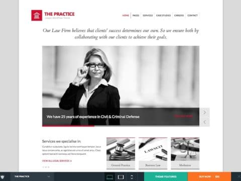 The Practice WP Theme