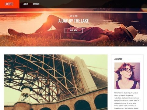 Uberto Blog WordPress Theme