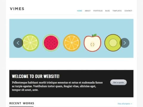 Vimes WordPress Theme
