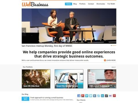 WebBusiness WP Theme