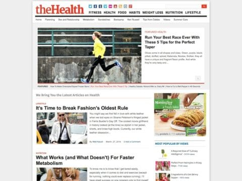 theHealth WP Theme