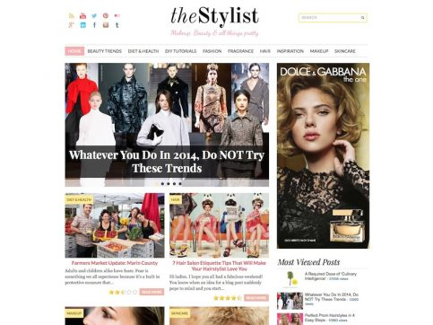 TheStylist WordPress Theme