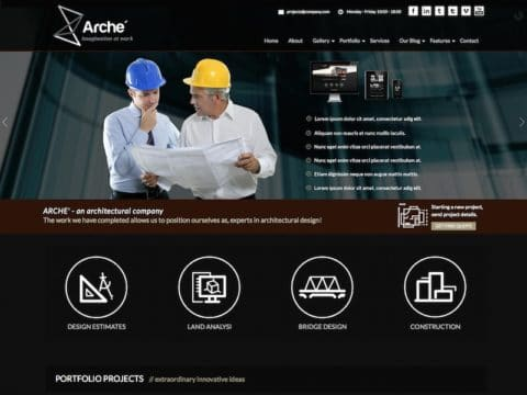 Arche WordPress Theme