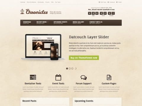 Chronicles WordPress Theme