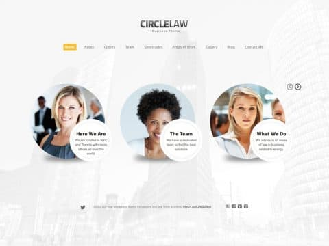 CircleLaw WordPress Theme