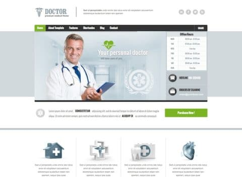 Doctor Medical WP Theme