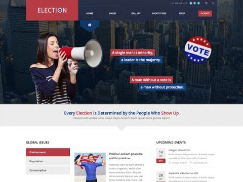 Election WP Theme