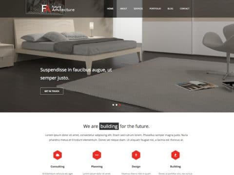 Future Architect WP Theme