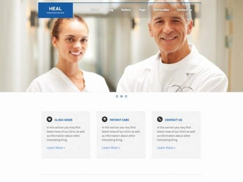 HEAL Medical WP Theme